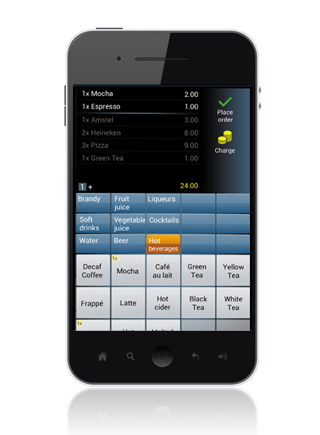 Android App - POS ordering