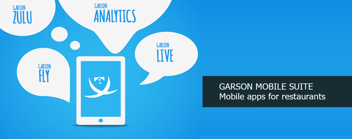 Garson Mobile Suite - Android applications for restaurants