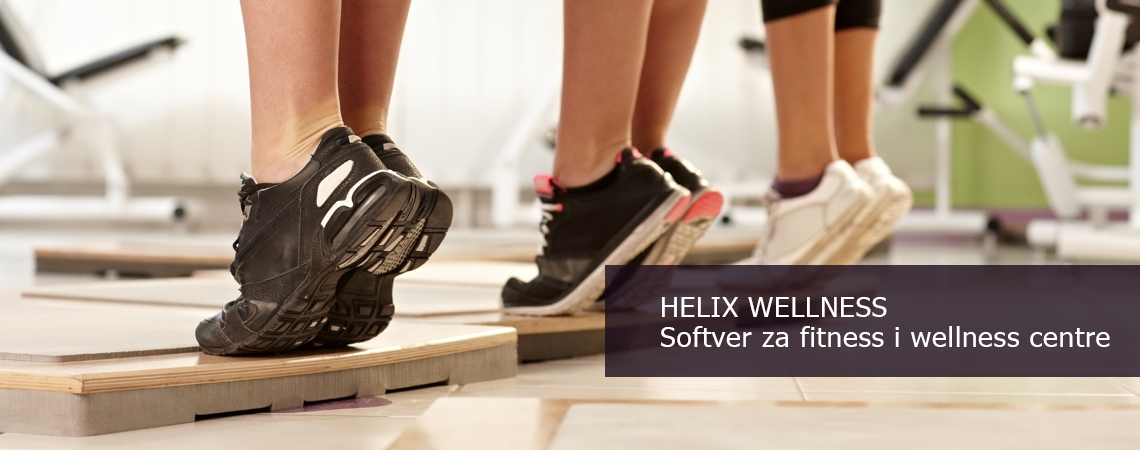 Helix Wellness softver za fitness centre